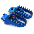 Free shipping blue Offroad motard Billet CNC Foot Pegs pedals Foot rests For KTM 65-990 all models except 690