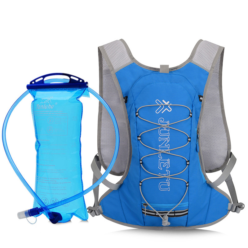 Image 2 - Aokali Sports Water Bag Outdoor Camping Hiking Portable Drinking Set 2L Folding Light Water Bag Bottle-in Water Bags from Sports & Entertainment