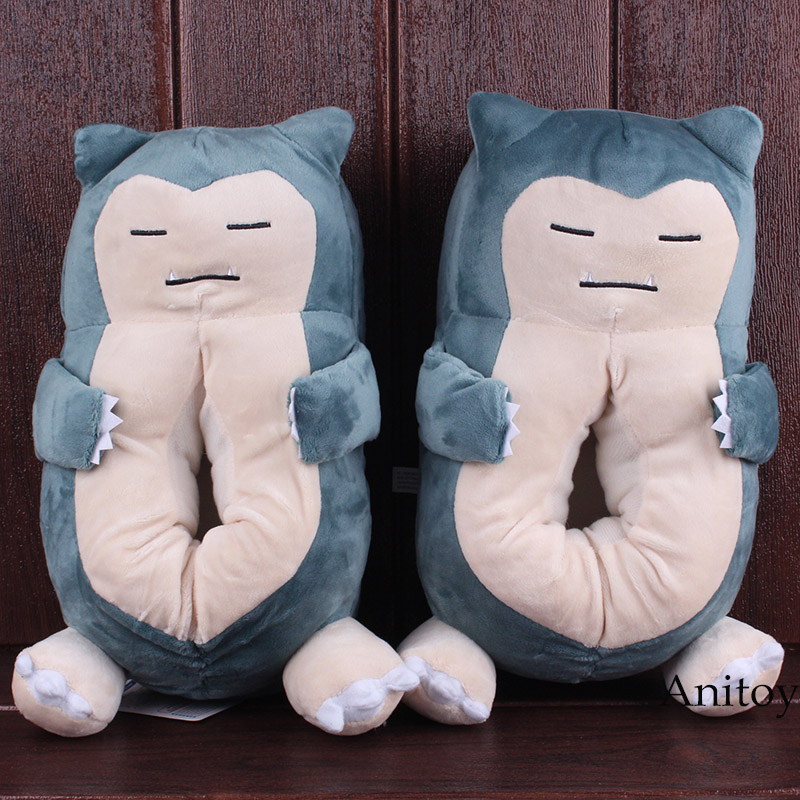 Anime Cartoon Snorlax Plush Slippers Home Indoor Winter Shoes Soft Plush Toys Dolls Stuffed Toys 29cm зеркальный цифровой фотоаппарат nikon d5300 18 105 vr kit black