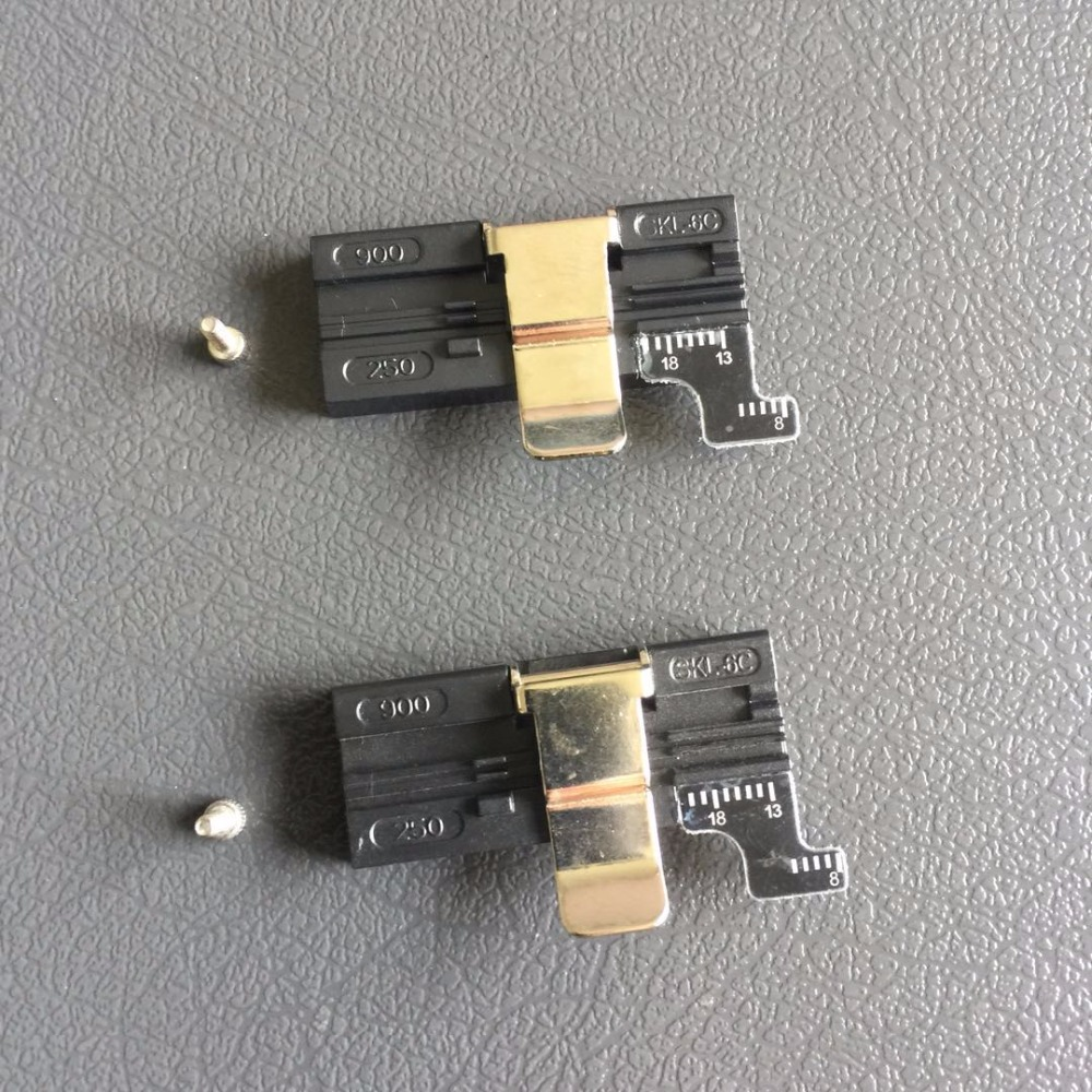 5pcs/lot Superior Quality CT-30 CT-20 CT-06 CT-30A Fiber Cleaver Fixture Fiber Cleaver FTTH Fiber Holder For 0.25mm 0.9MM 3MM