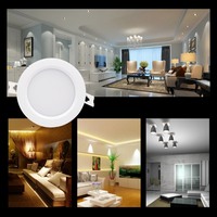 220V RGB+CCT LED Spotlight Ceiling 6W 9W Waterproof Dimmable Led Lamp Led Downlight Control By APP Phone Remote