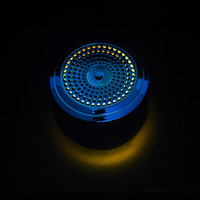 led music HOT Mini Bluetooth Speaker USB Colorful Led Light Wireless Portable Music Box Subwoofer Small Speaker With Changing Lights R0327 (5)