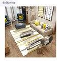 Бесплатная доставка  цветные полосы на белом ковре  коврик для гостиной  спальни  Tapete Para Sala Alfombra