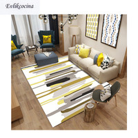 Free Shipping Colorful Stripes On White Carpet Room Area Rug Floor Mat For Living Room Bedroom Tapete Para Sala Alfombra