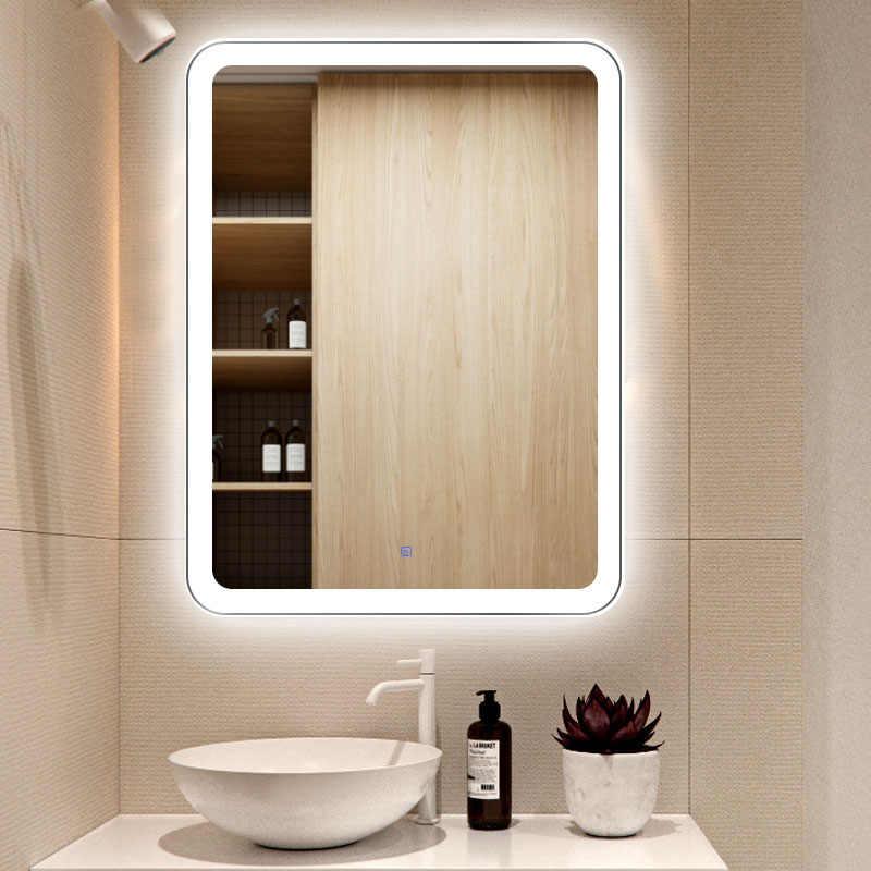 Bathroom Mirrors.Led Touch Screen Bathroom Mirror Hd Anti Fog Wall Mirrors Smart