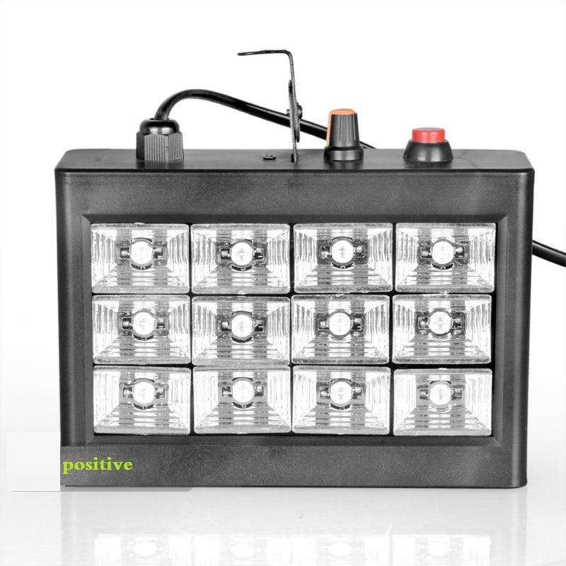 12 LED Voice Strobe / ktv Flash / Strobe / bar / stage lighting