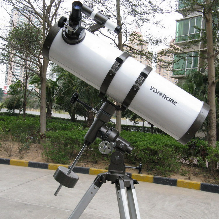Visionking 150 750mm Reflection Astronomical Telescope 150X Monocular Space Newtonian Equatorial Mount Tripod With Motor Drive