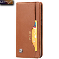 NEWELLYA Case For Huawei P20 Plus P20plus PU Leather Card Set Flip Cover Stand Phone Bags