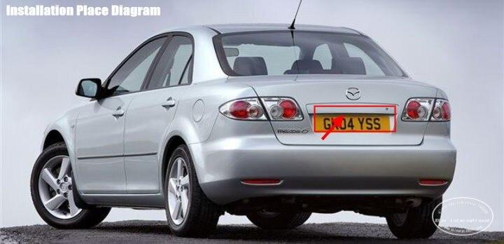 Liislee камера заднего вида для Mazda 6 GG1 2002~ 2012 GG GY wagon CCD ночного видения камера заднего вида номерной знак камера резервного копирования
