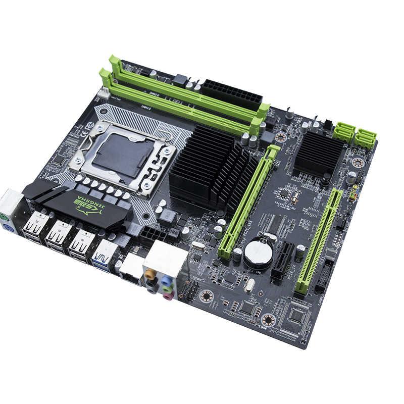 Новая материнская плата Jingsha X58 LGA 1366 Поддержка регистровая и ecc-память сервер памяти и процессор xeon
