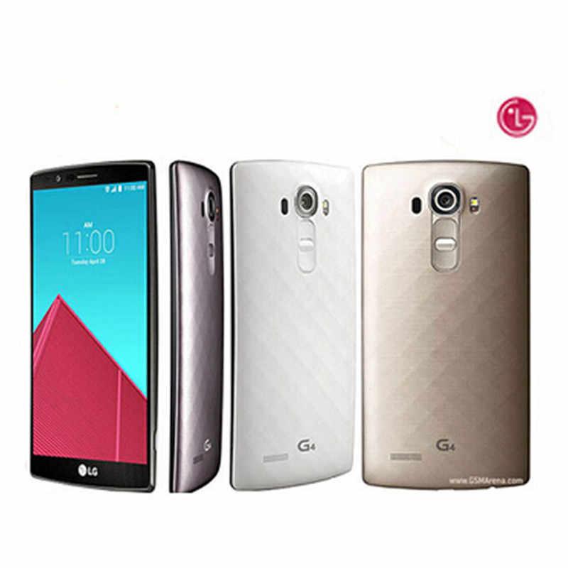 ロック解除オリジナル LG G4 携帯電話 3 ギガバイトの RAM 32 ギガバイト ROM 5.5 インチヘキサコア 16MP カメラ G4 アンドロイド改装携帯電話