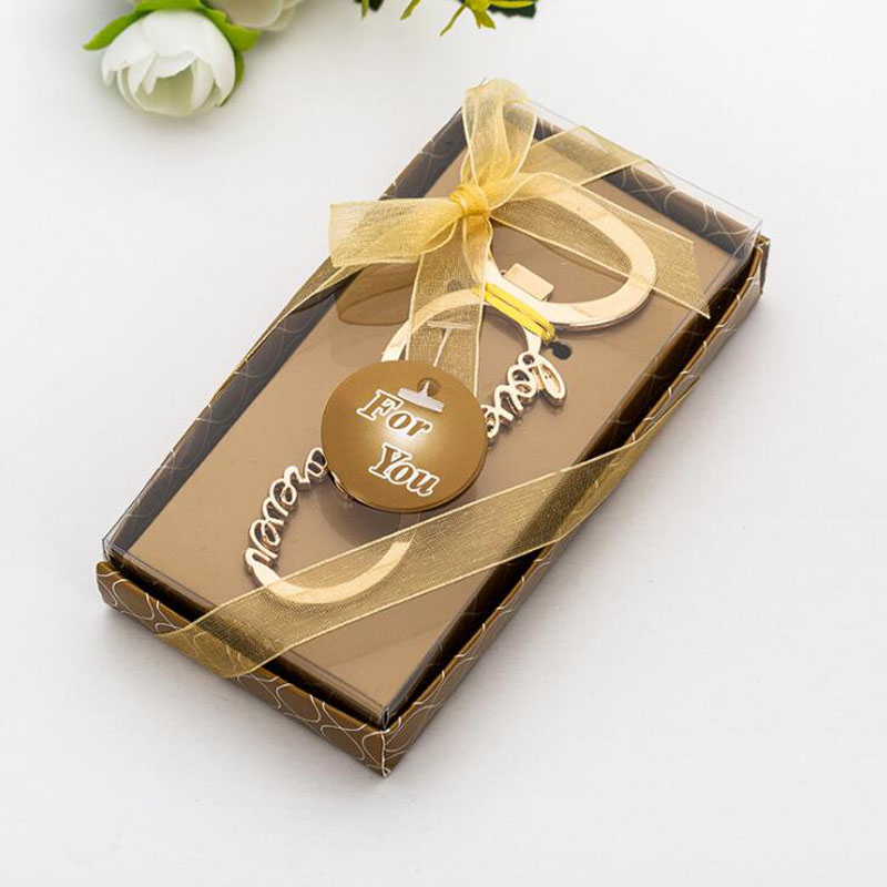 Image 3 - 20pcs/lot Party Favors Wedding Souvenir Personalized Love Letters Bottle Opener Gift Presents For Baby Shower Guest Giveaways-in Party Favors from Home & Garden