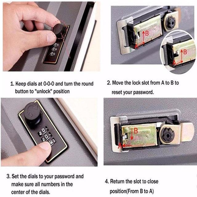 Safe Box Secret Book For Coin Money Stash Security
