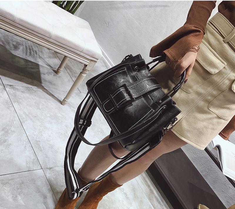 New European and American style vintage PU women handbag shoulder bag messenger bag 85