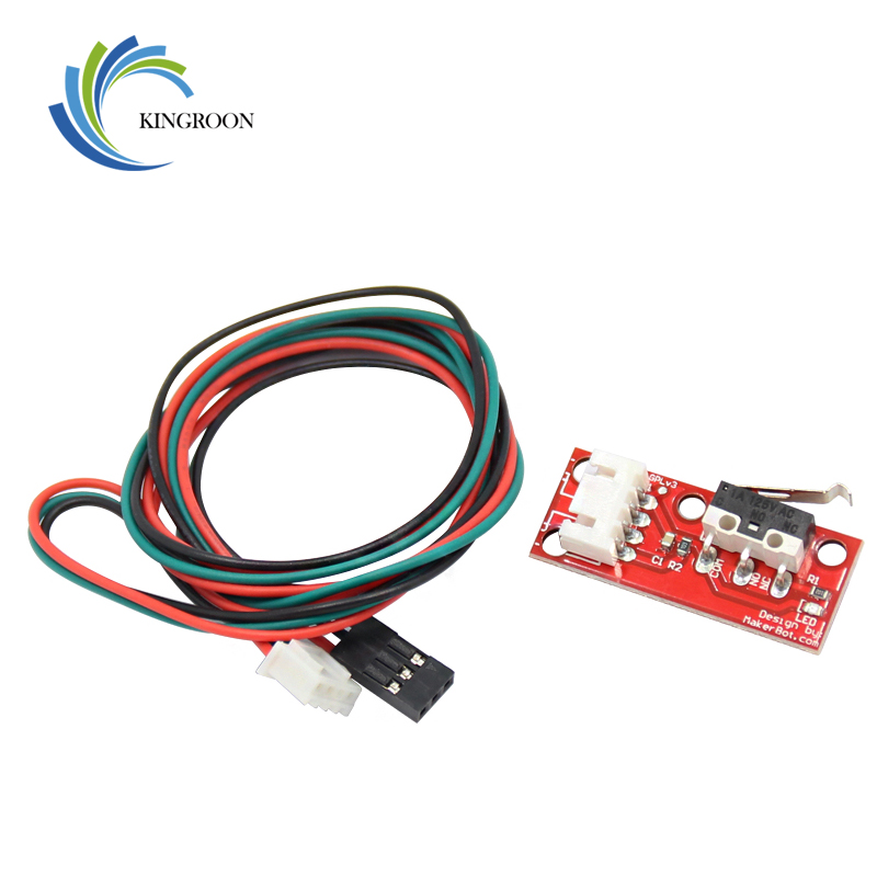 KINGROON Endstop Mechanical Limit Switches With 3 Pin 70cm Cable For RAMPS 1.4 Control Board Part Switch 3D Printers Parts 0
