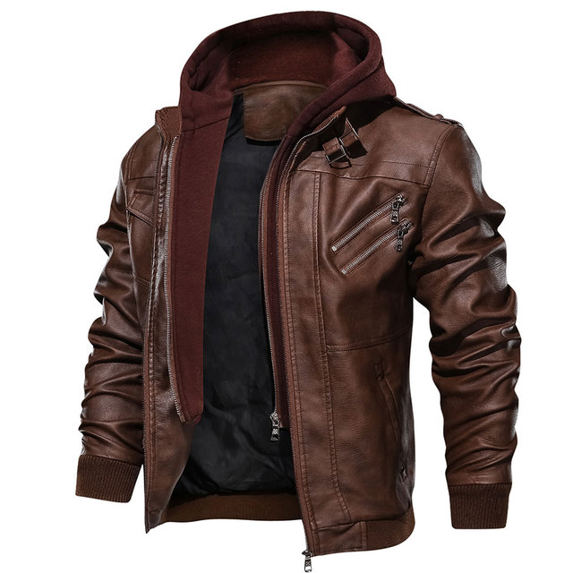 Mens Casual Leather Coats