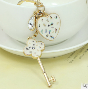 Key  pendant  keychain/korean luxury jewelry bag charms/chaveiro carro/llaveros women/porte clef strass/trinket  for key/gift