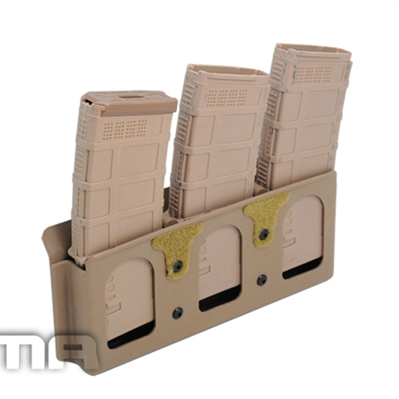 KANGAROO INSERT 5 56 M4 M16 fast mag magazine Gear Retention Orbit platform with three tracks