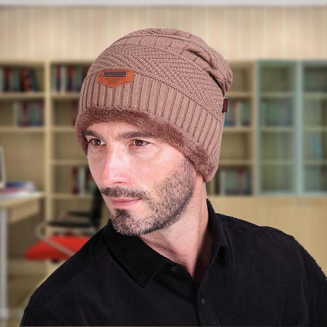 eb8caed671b70 Newest Brand Beanies Knit Men s Winter Hat Caps Skullies Bonnet Winter Hats  For Men Women Beanie Warm Baggy Knitted Sport Hat