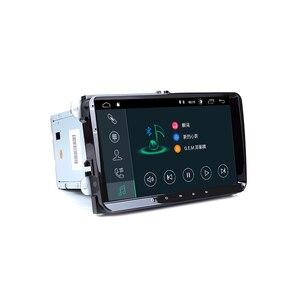 2 Din Android 10,0 автомобильный мультимедиа для Amarok volksaga VW Passat B6 golf 5 6 Skoda Octavia 2 Superb 2 Seat Leon навигационное радио