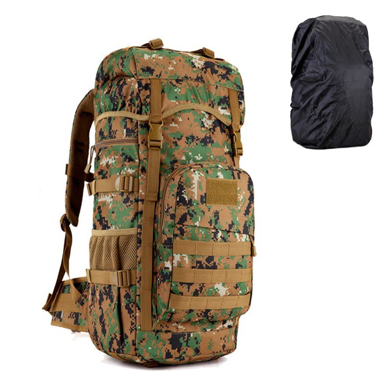 TAK YIYING Military Tactical Backpack 50L large Capacity Camping Bags Mountaineering bag Men's Hiking Rucksack Travel Backpack 50l tactical backpacks fly fishing outdoor camping hiking backpack 600d nylon military bags large capacity travel bag for men