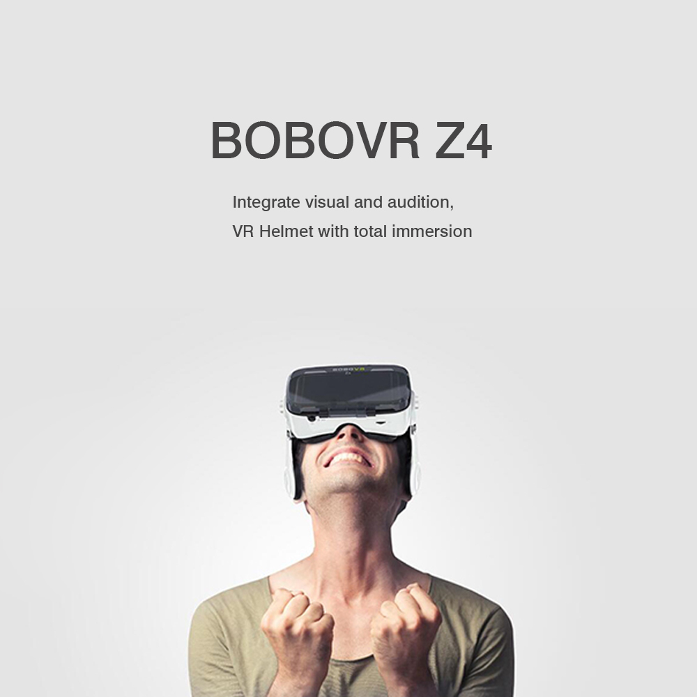 100% Original Xiaozhai BOBOVR Z4 Virtual Reality 3D VR Glasses Private Box Theater for 4.7 - 6.2 inches Phones Immersive 2.0