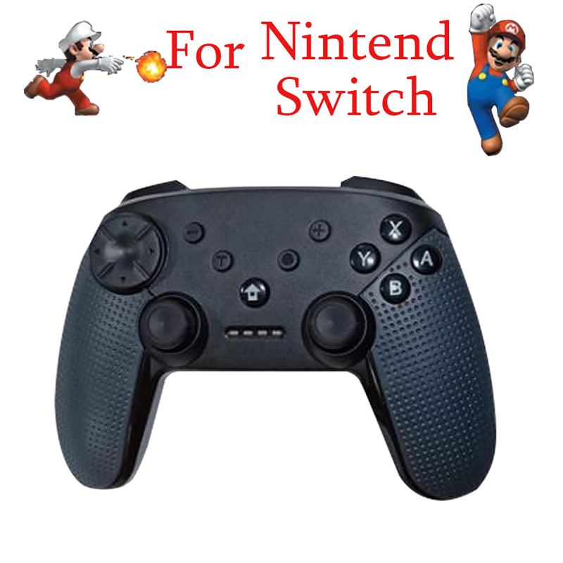Wireless Gamepad Game Joystick Controller For Nintend Switch Pro Host Bluetooth Controller Support Somatosensory Vibration(China)