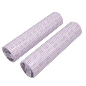 Image 4 - 12000 stücke 20 Bände Schreibwaren Label Aufkleber 22*12mm Geschäften Zu Hause Studenten Schulen Büros Produkt Preis Tag Code papier