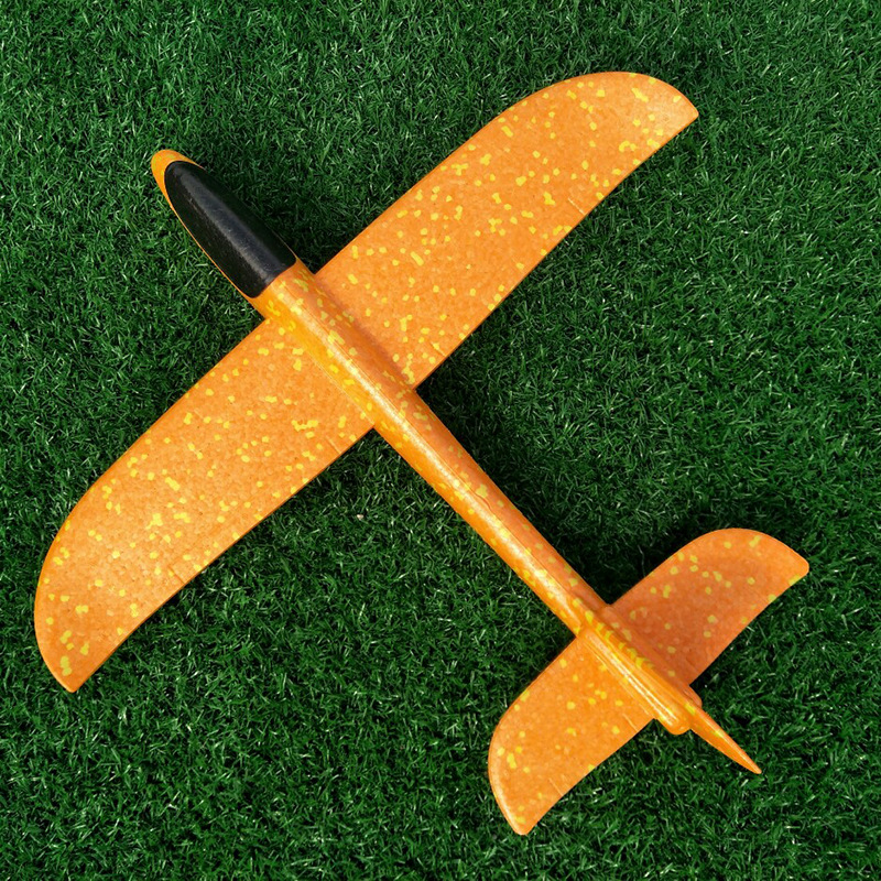 35/48CM Kids DIY Toys Hand Throw Flying Glider Planes Model EPP Foam Airplane Party Bag Fillers Outdoor Fun Toys for Kids Game