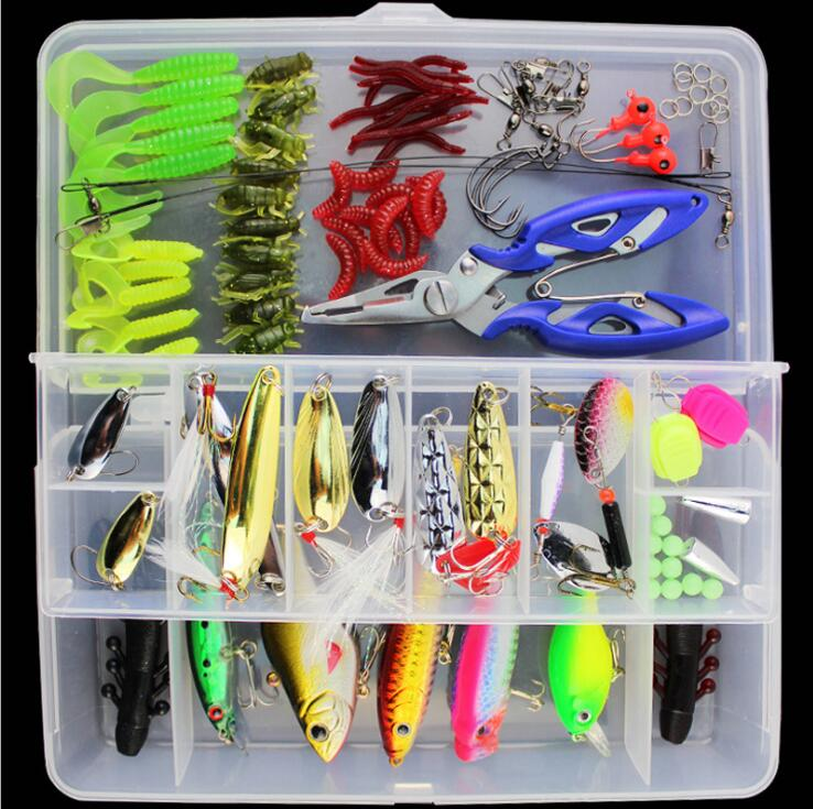 Set of 101sets artificial lure baitslure multi-functional swimming - Fishing - Photo 3