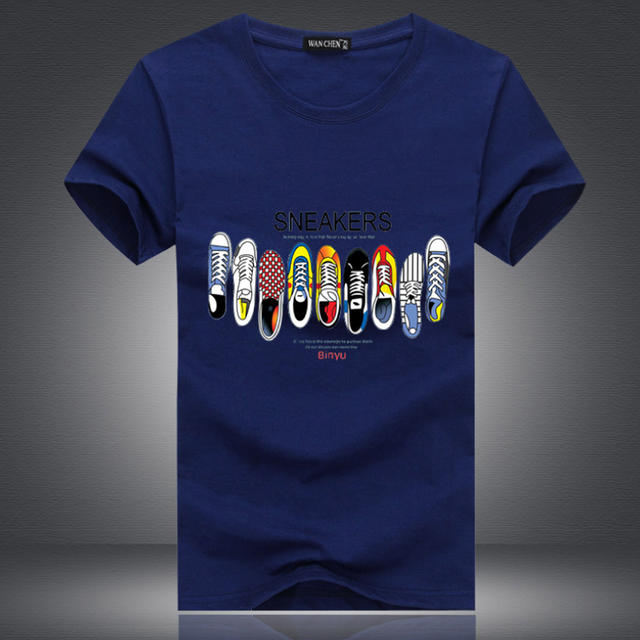 The New New Fashion Brand large size Men Clothes Solid Color Sleeve Slim Fit T Shirt Men Cotton T-Shirt Casual T Shirts S-5XL