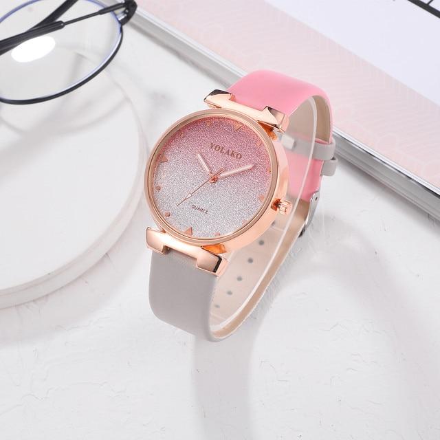 Top Brand Luxury Women Bracelet Watches Fashion Female Dress Wrist Mesh Watchban