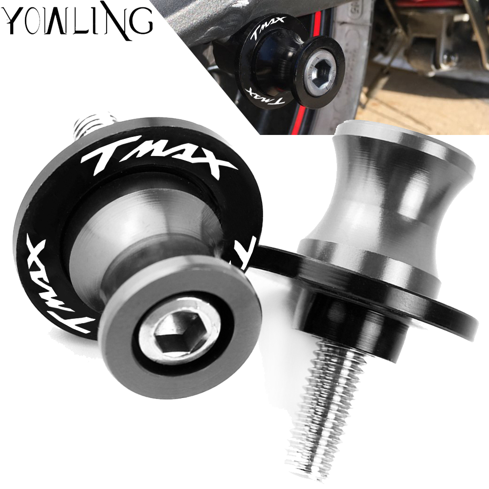 Motorcycle Stands M6 Screw sliders Swingarm Spools Slider For Yamaha T MAX TMAX 500 530 T-MAX 530 DX SX 2004-2016 <font><b>2017</b></font> 2018 2019 image