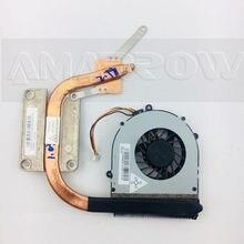 Original para lenovo portátil dissipador de calor ventilador refrigeração cpu cooler g470 g470a g470ah g570 cpu dissipador de calor