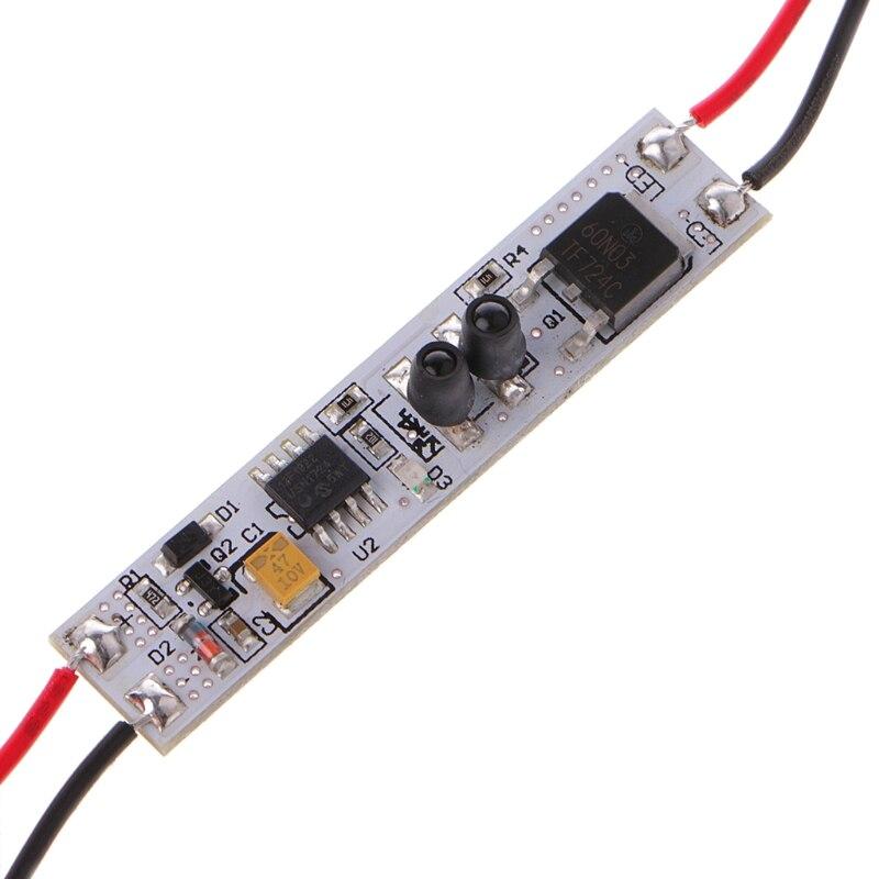 LP-1019 Module 5A Body Sensor Detection Sensing Switch LED Strip Light Dls HOmeful produino tdl 5002 fbs4935 human body sensing module black