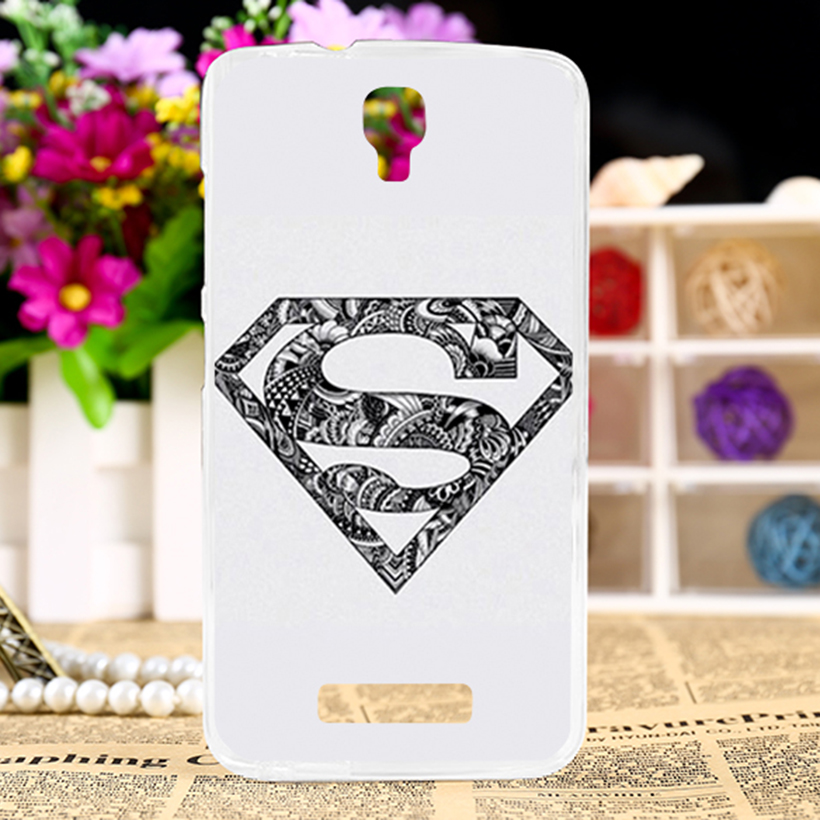 Soft Silicon Mobile Phone Case For ZTE BLADE L5 ZTE BLADE L5 Plus Cover America Captain Batman Shell For ZTE L5 Plus Case Hoods