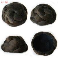 9CM New Clip In Bun Hair Chignon Bun Wig Hair Ponytail Drawstring Bun Hairpieces Pony Tail