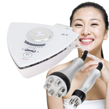 RF tripolar skin tightening radio frequency wrinkle removal device slimming face lifting machine недорого
