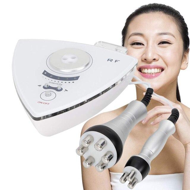 Rf tripolar 피부 강화 무선 주파수 주름 제거 장치 슬리밍 얼굴 리프팅 기계