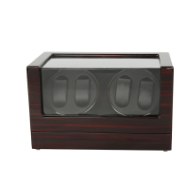 Watch Winders ,LTCJ Wooden Automatic Rotation 4+0 Watch Winder Storage Case Display Box (BB)without the lock
