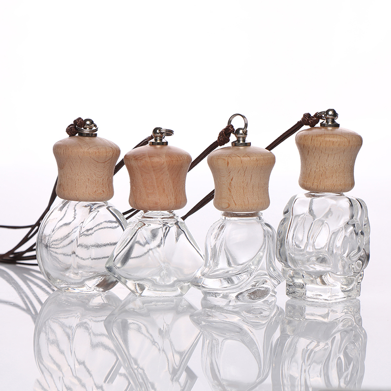 Auto Pendant Ornament Car-styling Perfume Fragrance Accessories Car Perfume Bottle for Essential Oils Air Freshener