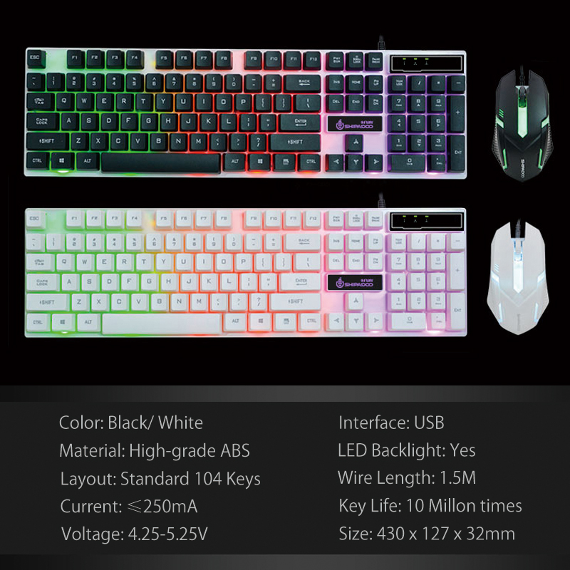 K280 USB Wired Computer Keyboard (20)