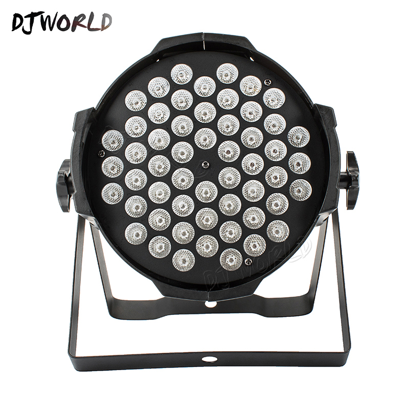 Aluminum Alloy LED Can Par 54x9W RGB 3in1 Floodlight DMX512 Projector For Atmosphere Of Disco DJ Music Party Club Dance Floor