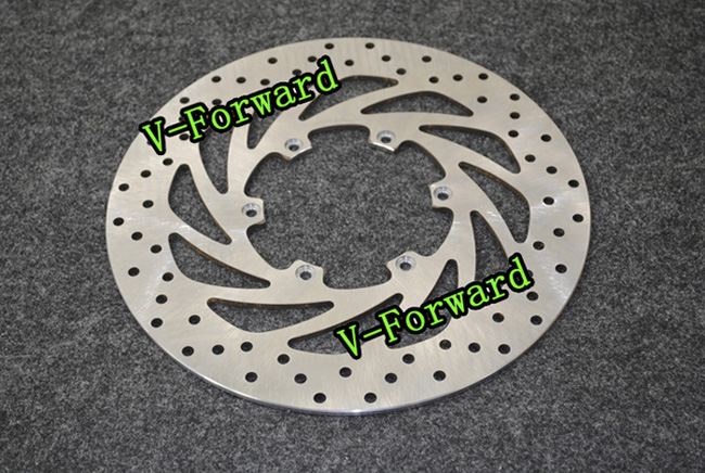 Motorcycle Front Brake Disc Rotors For F650 ST(E169/0163/168)Strada (18Front wheel/low screen)  97-00 Universel motorcycle front brake disc rotors for suzuki drz400 2005 2011 universel