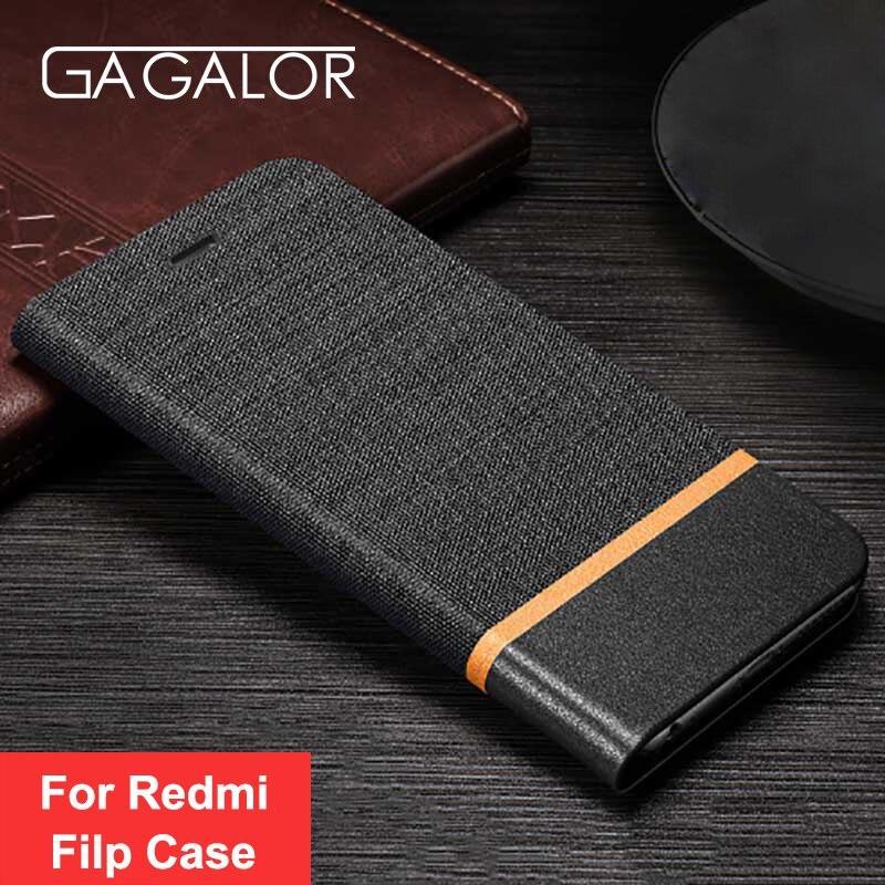 GAGALOR Luxury Flip Leather font b Case b font For font b Xiaomi b font Redmi