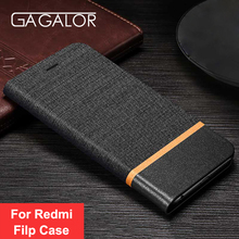 GAGALOR Luxury Flip Leather Case For Xiaomi Redmi Note 4/4X Case Book Style Stand Cover For Xiaomi Redmi 4/4A/4X Cases Coque