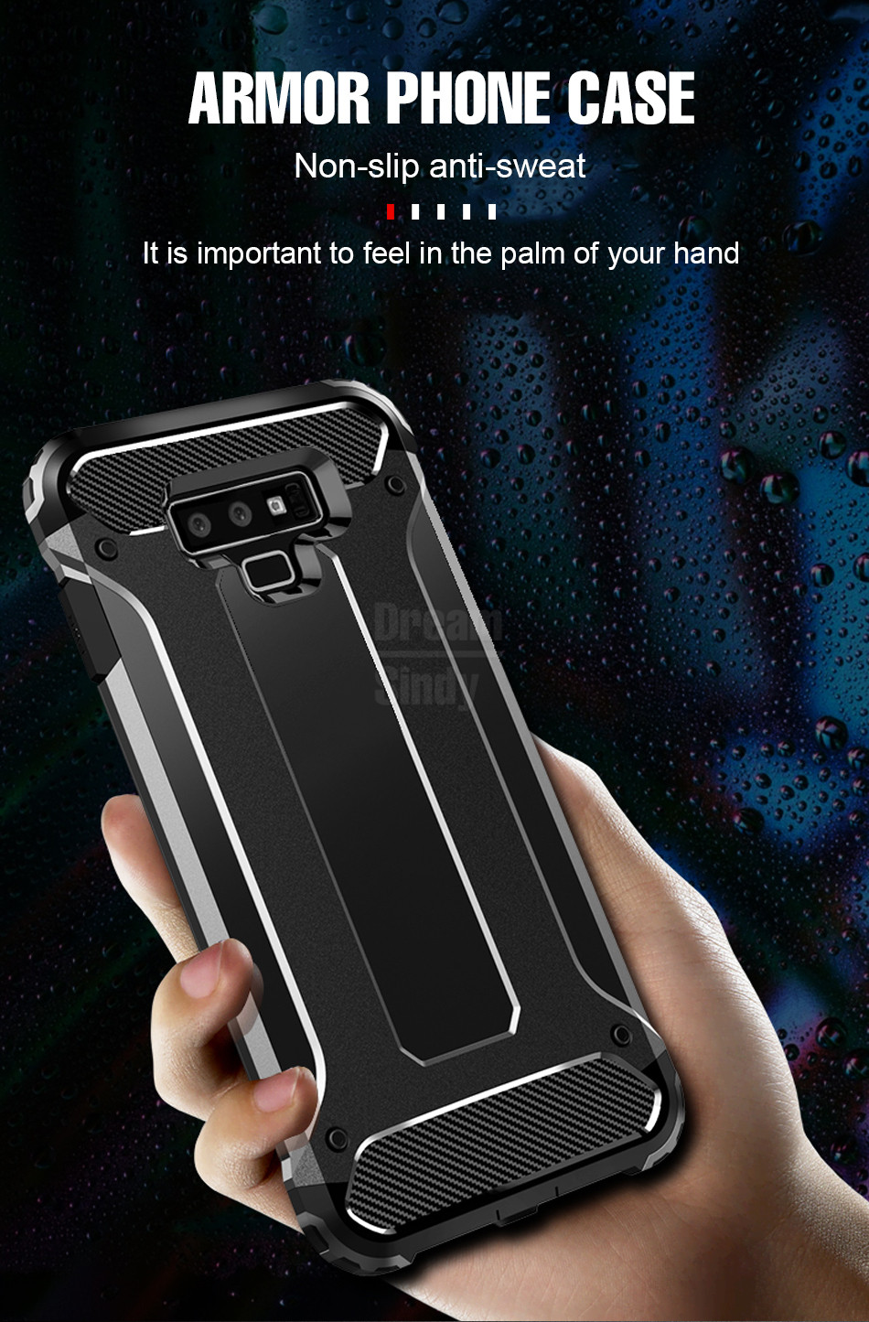 Luxury Armor Shockproof Bumper Case03