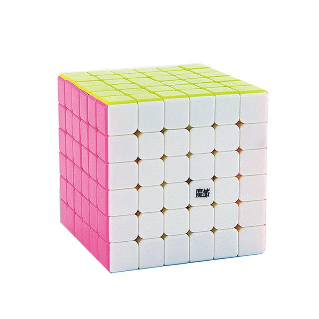 MoYu kub Aoshi 6x6 Cubo Mágico Puzzle Cubo mágico Stickerless Juguetes y Pasatiempos Educativo Cubo Iq Juguetes Educativos