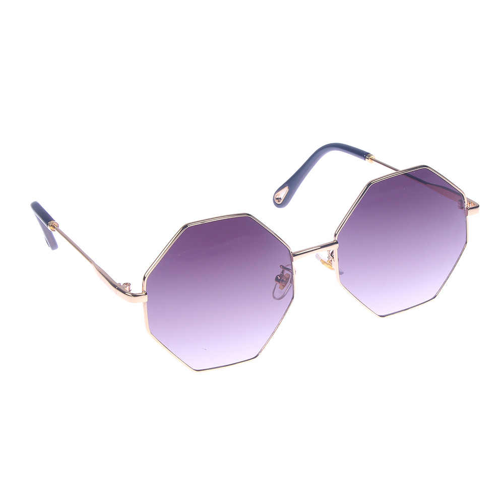 0e4490c6f9e Detail Feedback Questions about Fashion Sunglasses Women Men Brand Designer Small  Frame Polygon Clear Lens Sunglasses Vintage Sun Glasses Hexagon Metal ...