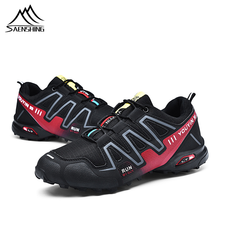 Breathable Mesh Men Women Road Bike Shoes for hiking Shoes Ultralight Non Lock Non slip outdoor